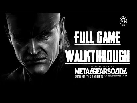 MGS 4 - Full Game Walkthrough - No Alerts - No Commentary