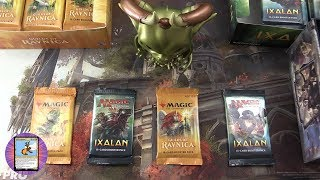 Ixalan & Guilds of Ravnica #1 pack opening / unboxing
