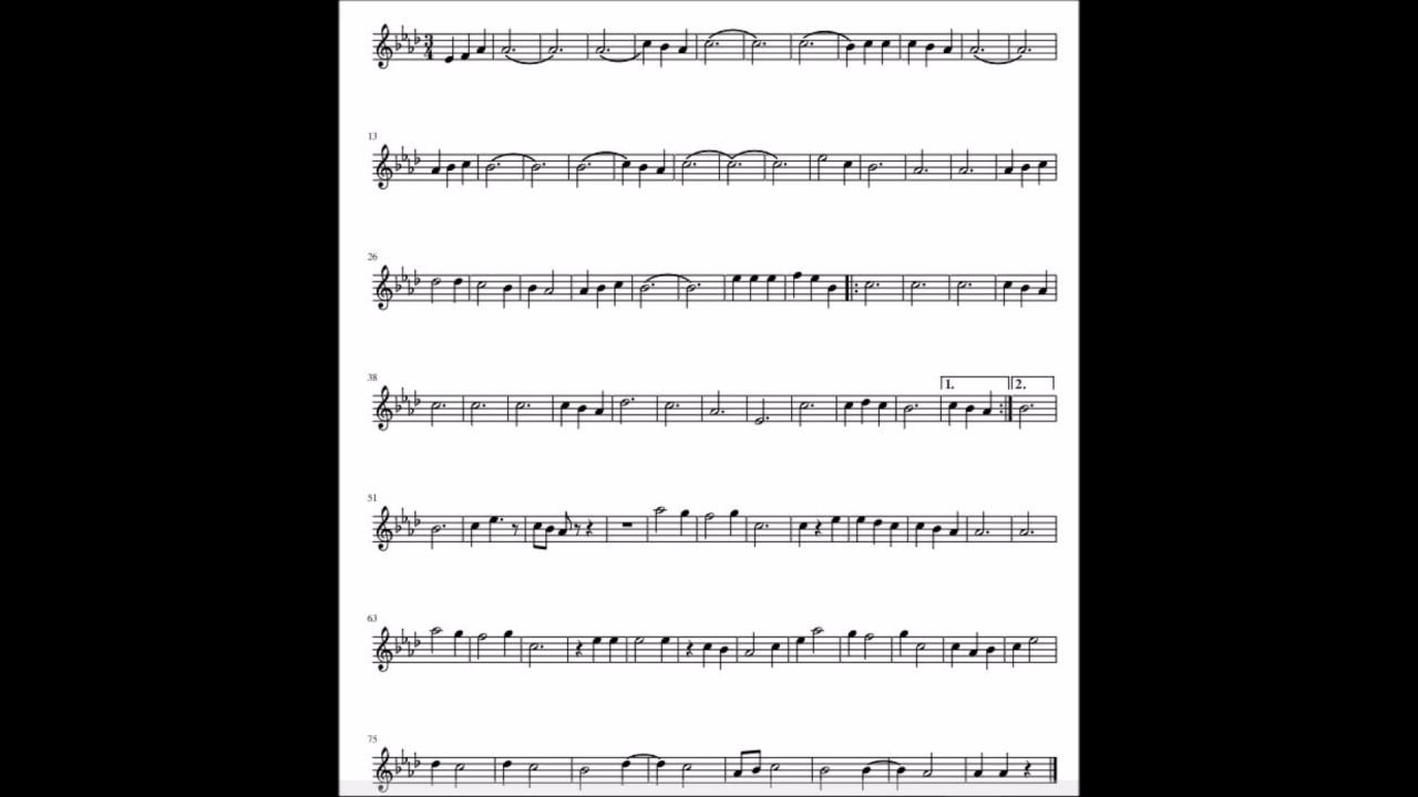 Perfect ed sheeran notes sheet music spartito youtube - Dive ed sheeran testo ...
