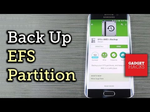 Back Up the EFS Partition on Your Galaxy S6 to Prevent IMEI