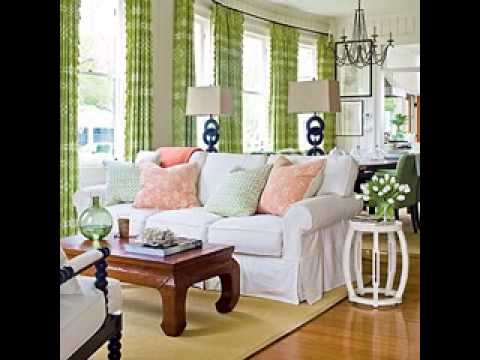 Living room curtains ideas