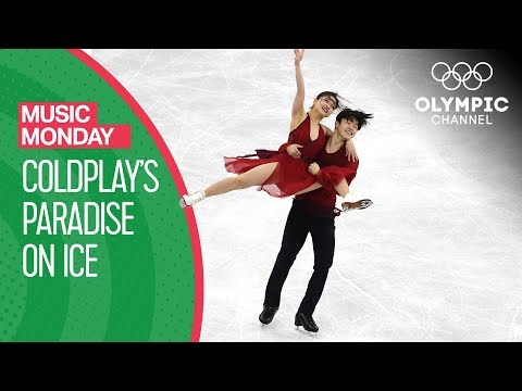 Maia & Alex Shibutani\'s Ice dance to \'Paradise\' by Coldplay at PyeongChang 2018 |Music Monday