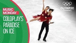 Maia & Alex Shibutani's Ice dance to 'Paradise' by Coldplay at PyeongChang 2018 | Music Monday