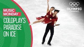 Download Maia & Alex Shibutani's Ice dance to 'Paradise' by Coldplay at PyeongChang 2018  Music Monday