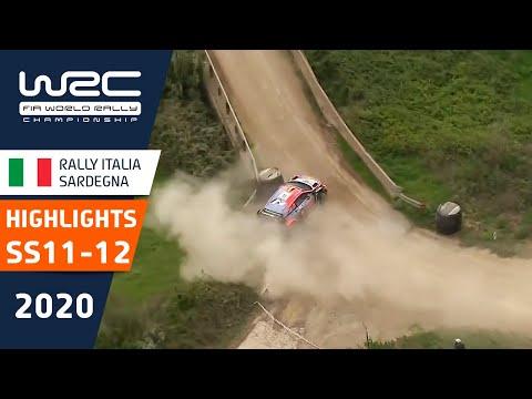 WRC - Rally Italia Sardegna 2020: HIGHLIGHTS Stages 11-12