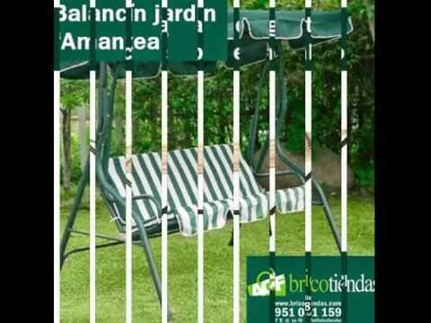 Bricotiendas muebles de jard n balancines y hamacas de for Balancines de jardin