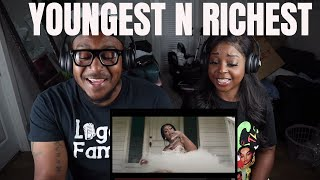 Mulatto - Youngest N Richest (Official Video) (reaction)