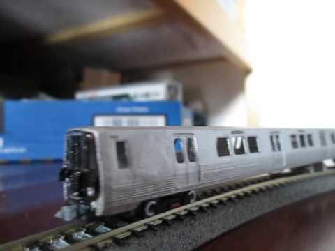 1/3/16 Washington DC Metro 7000 Series N Scale 3D Printed!