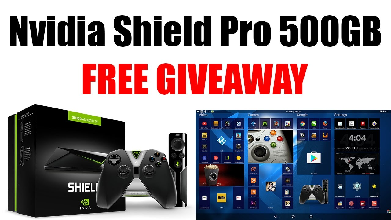FREE Nvidia Shield Android TV Pro 500GB Giveaway