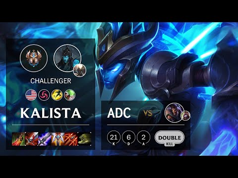 Kalista ADC vs Draven - NA Challenger Patch 10.16