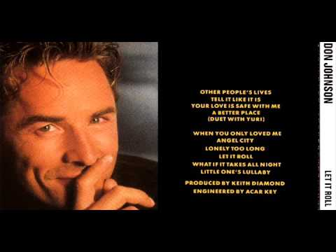 DON JOHNSON - Other People's Lives