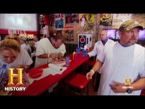 Only In America with Larry the Cable Guy - Eating Contest | History