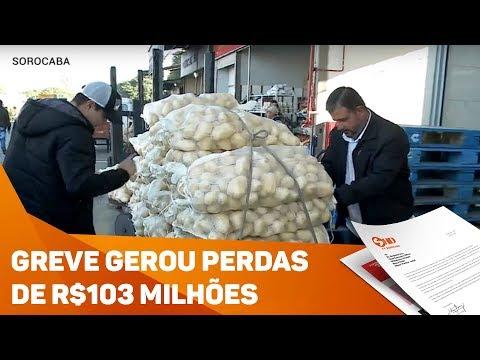Greve gerou perdas de R$103 milhões por dia em Sorocaba  - TV SOROCABA/SBT
