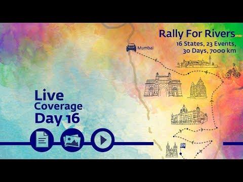 Rally for Rivers - Day 16 - Mumbai