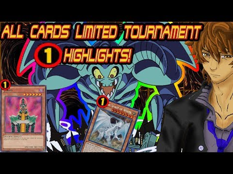 TIER 0 TOONS VS BLUE EYES ALL CARDS LIMITED TOURNAMENT FINAL
