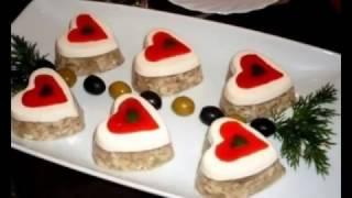 Новогоднее меню заливное мясо, заливная рыба, заливной холодец. Идеи оформления заливных блюд.
