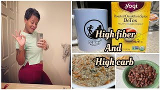 HIGH FIBER and HÏGH CARB | What I Eat In a Day To LOSE WEIGHT