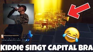 KIDDIE singt CAPITAL BRA für TOTENGRÄBER !!! 😱😂 Fortnite Rette die Welt