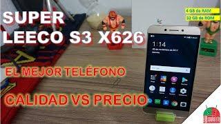 SUPER LEECO S3 X626 - El mejor Teléfono CALIDAD Vs PRECIO