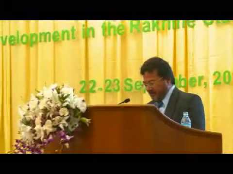 Workshop on Rakhine State Issues_23-9-2012_Part 1