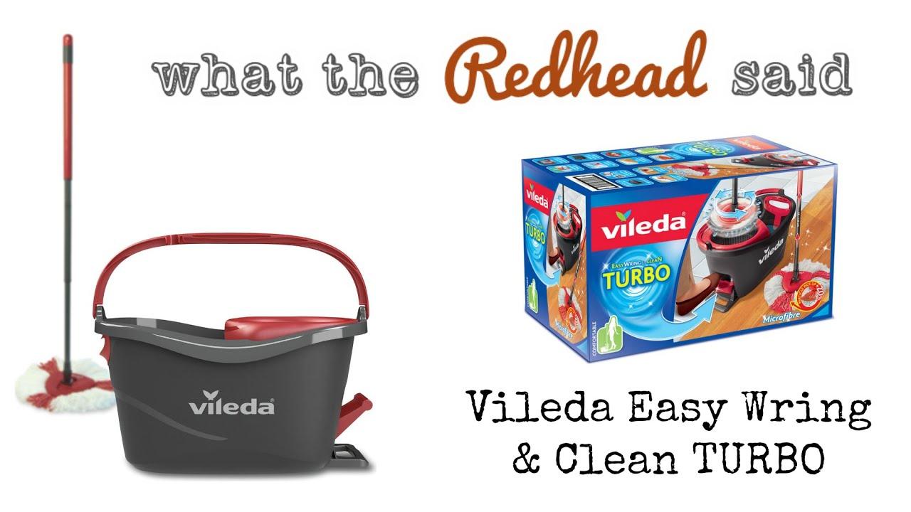 Vileda Easy Wring Clean Mop Set Ad