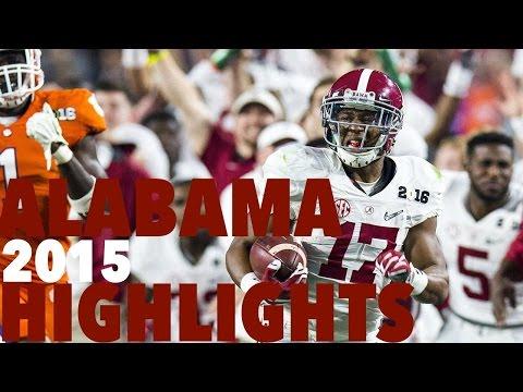 Alabama 2015 Highlights (Prime Sports)