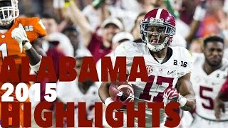 Alabama 2015 Highlights (Prime Sports)