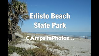 Edisto Beach State Park, South Carolina Campsite Photos