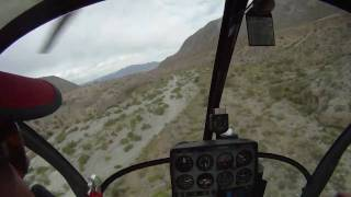 Schweizer 300C Helicopter Canyon Run