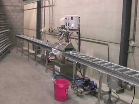 volumair automatic paint line from sotholms bruk youtube