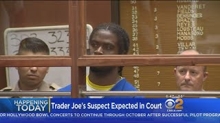 Suspect In Trader Joe's Gun Battle To Be Arraigned