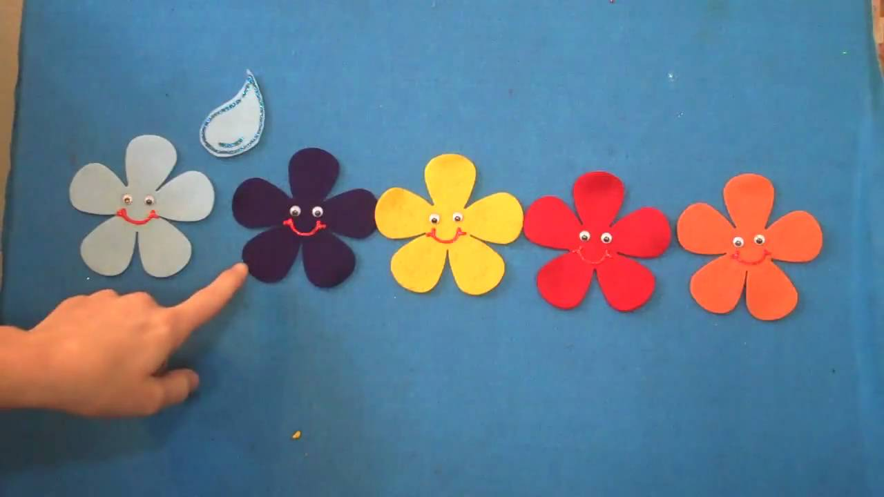Preschool songs five spring flowers childrens music flannel board preschool songs five spring flowers childrens music flannel board story mightylinksfo