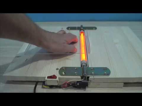 DIY Acrylic Bending Machine