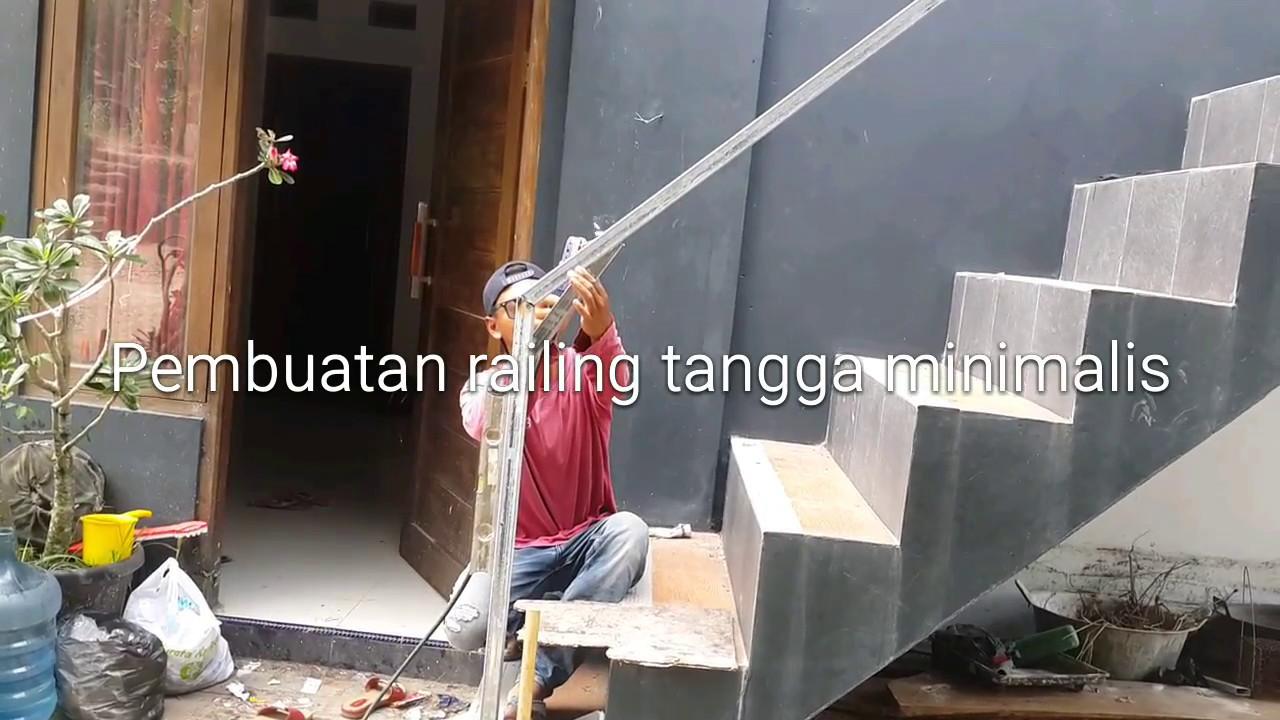 Proses Pembuatan Railing Tangga Cepat Dan Praktis