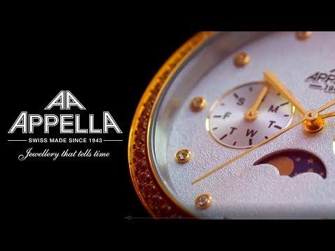 Часы Appella - Швейцарская классика для ценителей качества