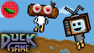GOING THE DUCK DISTANCE! -- Let's Play Duck Game (Local Versus)