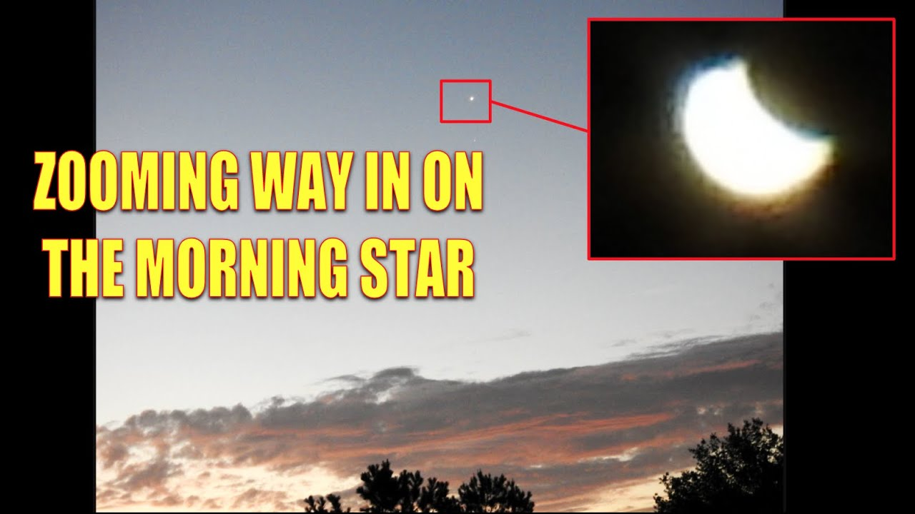 WHAT ZOOMING IN ON THE MORNING STAR LOOKS LIKE