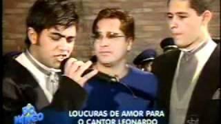 Leonardo e Pedro & Thiago - Homenagem a Leonardo No Dia Dos Pais - Domingo Legal