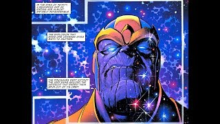 King THANOS Defeats Odin , Galactus & the Marvel Universe