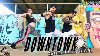 Baixar DownTown - Anitta Ft. J Balvin - Choreography - Equipe Marreta (Versión Zumba)