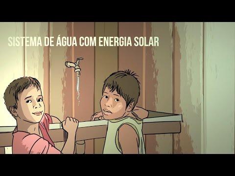 Um projeto para resolver a falta de água em comunidades isoladas da Amazônia