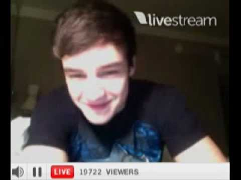 Liam Payne's Twitcam - Part 1 (March 14, 2012)