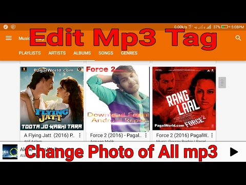 How To Edit Mp3 Tag || Change Photo, Artist,Title,Genre,Album, Of All Mp3 Song