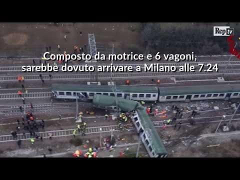 Treno deragliato a Pioltello: la videoricostruzione dell'incidente
