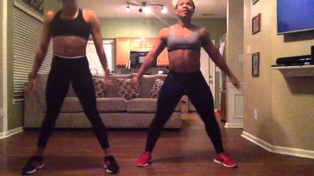 Rihanna Work Ft Drake  Home Workout Routine  YouTube