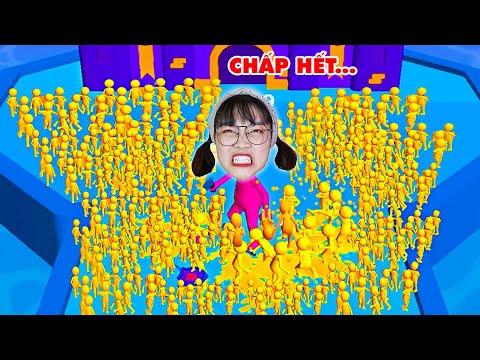 Hà Sam Giúp 500 Bạn Bè Trừng Trị Tên Khổng Lồ Ngoài Hành Tinh Xâm Chiếm Lâu Đài - Join Clash 3D