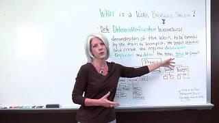 إدارة المشروع: ما هو هيكل توزيع العمل?