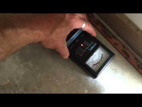 Moisture In Concrete Slab | Building Inspection Frankston Area