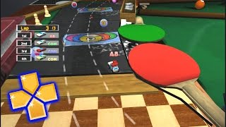 MicroMachines V4 PPSSPP Gameplay Full HD / 60FPS
