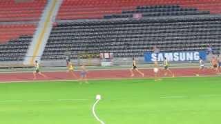 1500м мужчины финал Чемпионат Украины 2013 Донецк